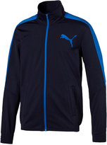 Puma Men's Contrast Zippered Track Jacket