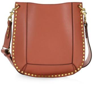 Isabel Marant Oskan Studded Leather Hobo Bag