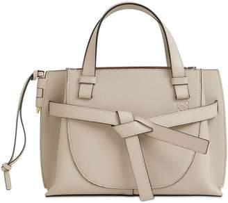 Loewe Mini Gate Grained Leather Top Handle Bag
