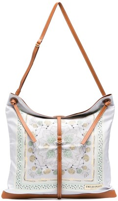 Emilio Pucci x Ramadan shell-print shoulder bag