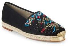 Giuseppe Zanotti Embroidered Slip-On Espadrilles