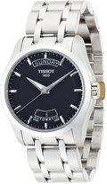 Tissot Men's Couturier T035.407.11.051.00 Silver Stainless-Steel Swiss Automatic Watch with Dial