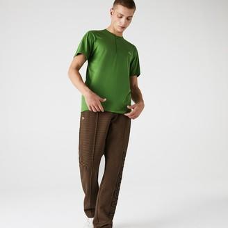 Lacoste Men's Henley Neck Pima Cotton Jersey T-shirt