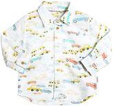 Paul Smith Cars Printed Cotton Oxford Shirt