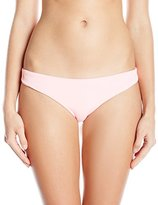 Maaji Women's Rosewood Expressions Pale Rose Surrealism Signature Cut Reversible Bikini Bottom