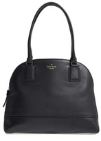 Kate Spade Young Lane - Small Anika Leather Dome Satchel - Black