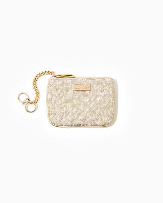 Lilly Pulitzer Louise Quilted Key ID Card Case