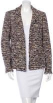 Chanel Tweed Open-Front Blazer