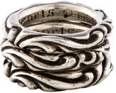 Chrome Hearts Etched Stacking Bands