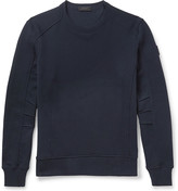 Belstaff Chanton Panelled Cotton-Jersey Sweatshirt