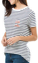 Sugarhill Boutique 'Hello Sailor' Mimi T-Shirt, White/Navy