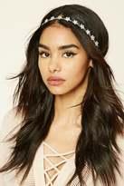 Forever 21 FOREVER 21+ Floral Rhinestone Headband