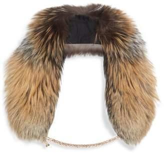 Demarson Eva Smokey Fox Fur Stole