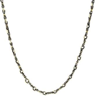 Sylva & Cie Confetti Chain-Link Necklace