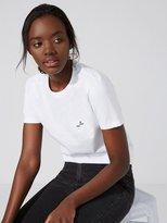 Frank + Oak The Made in Canada Signature T-Shirt in Bright White