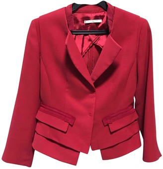 Elie Tahari Red Jacket for Women