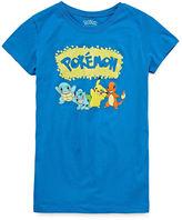 Pokemon Girls Short Sleeve T-Shirt-Big Kid