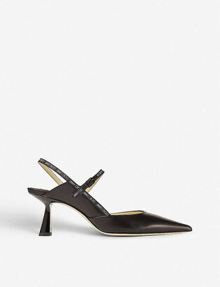 Jimmy Choo Ray 65 slingback leather courts