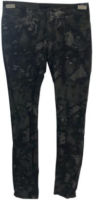 Diesel Black Gold Multicolour Cotton - elasthane Jeans for Women