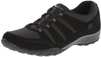 Skechers Women's Breathe-Easy Imagine Low-Top Sneakers Black Size: