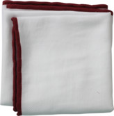 Brunello Cucinelli Piped Trim Pocket Square