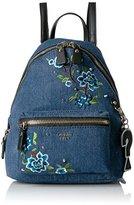 GUESS Cool School Small Leeza Backpack-Denim
