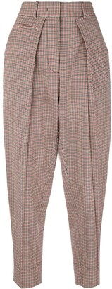 Cédric Charlier checked trousers