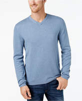 Weatherproof Vintage Men's Cashmere Blend V-Neck Sweater