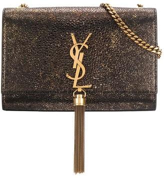 Saint Laurent metallic Kate shoulder bag