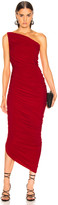 Norma Kamali Diana Gown in Red   FWRD