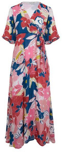 Emily And Fin Chloe Floral Dress Pink Asilah - 8