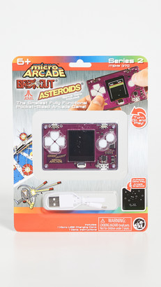 East Dane Gifts Asteroids Breakout Micro Arcade Game