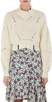 Isabel Marant Women's Gane Cotton-Blend Crop Sweater
