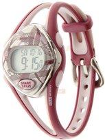 Timex Women's T5K510 Ironman Sleek 50-Lap Berry Resin Strap Watch