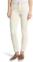 Jen 7 Stretch Ankle Skinny Jeans (Winter White)