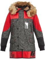 Junya Watanabe X The North Face wool-tweed coat