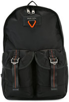 Diesel contrast backpack - men - Polyamide - One Size