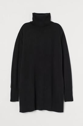 H&M Cashmere polo-neck jumper