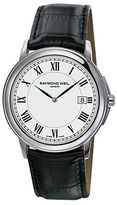 Raymond Weil Men's Tradition Silver Case Watch