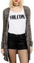 Volcom Women's Go Go Wrap Cardigan