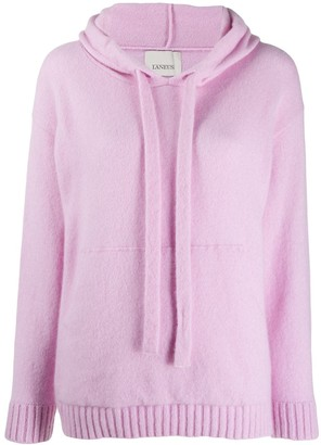 Laneus Cashmere Knitted Hoody