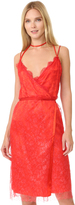 Nina Ricci Sleeveless Coated Lace Dress