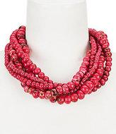 Natasha Accessories Beaded Multi-Strand Necklace