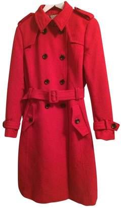 Banana Republic \N Red Wool Coat for Women