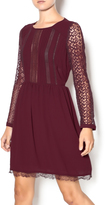 Heartloom Merlot Lace Dress
