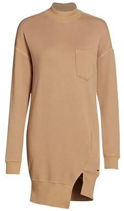 n:philanthropy Pari Asymmetric Turtleneck Sweatershirt Dress