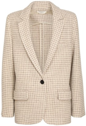 Etoile Isabel Marant Charly Wool Single Breast Jacket