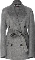 Rochas Double Breasted Wool Coat