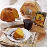 Tortuga Golden Rum Cake & Rum Cream-Flavored Coffee Duo