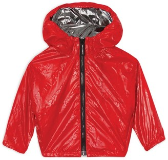 Burberry Kids Logo Hooded Jacket